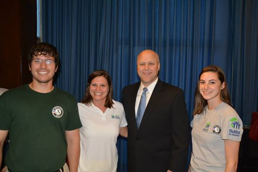 americorps with Mayor Landrieu