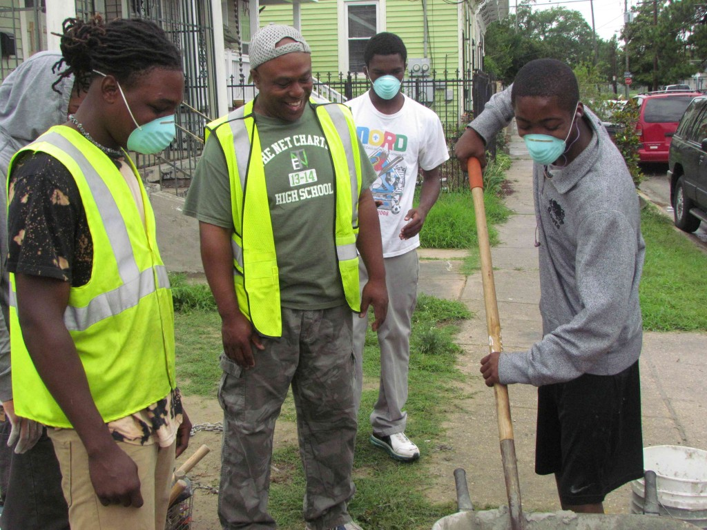 NOAHH Partners With the New Orleans Mission and the NET Charter High School - New Orleans Area Habitat For Humanity