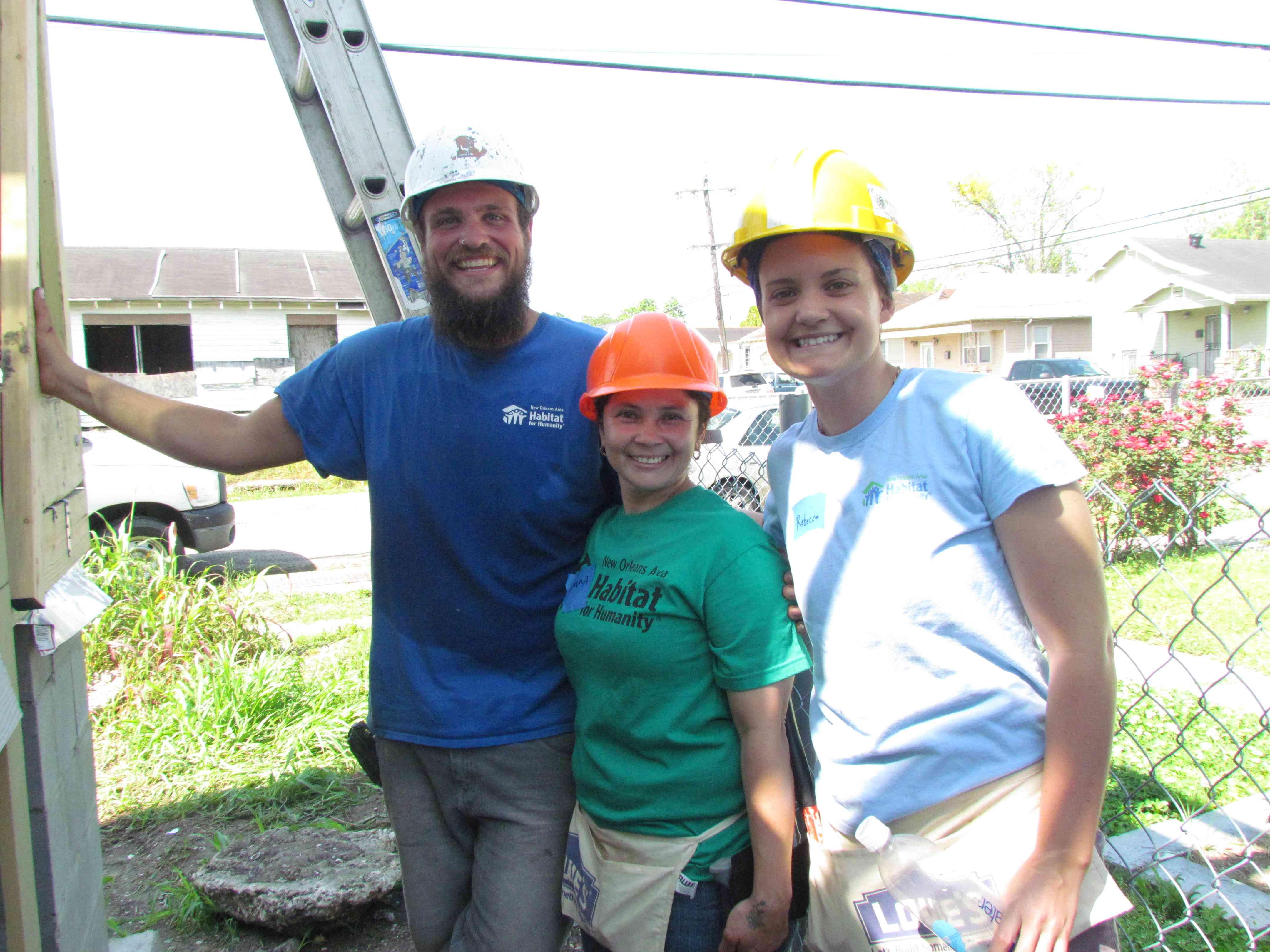 Volunteer Profile: Greg Beuerman and My Pledge 2015 - New Orleans Area Habitat For Humanity