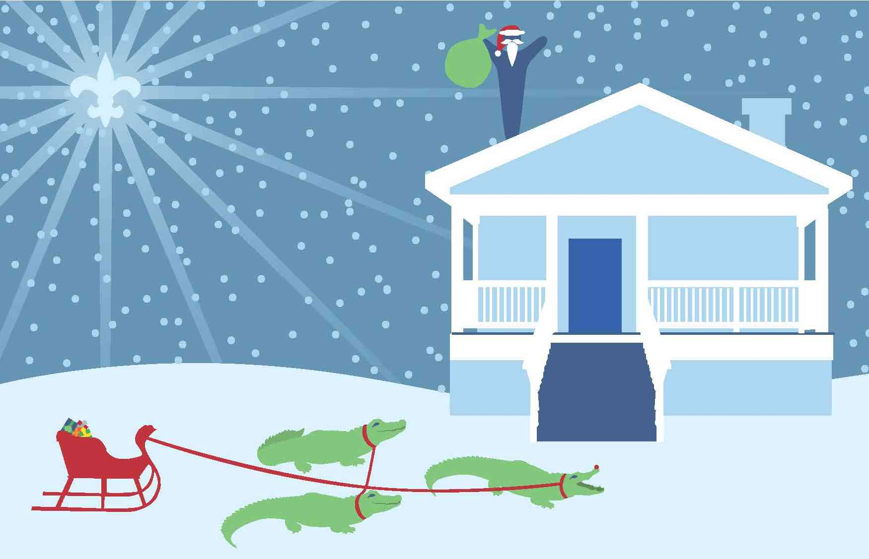 Happy Holidays From New Orleans Area Habitat For Humanity New