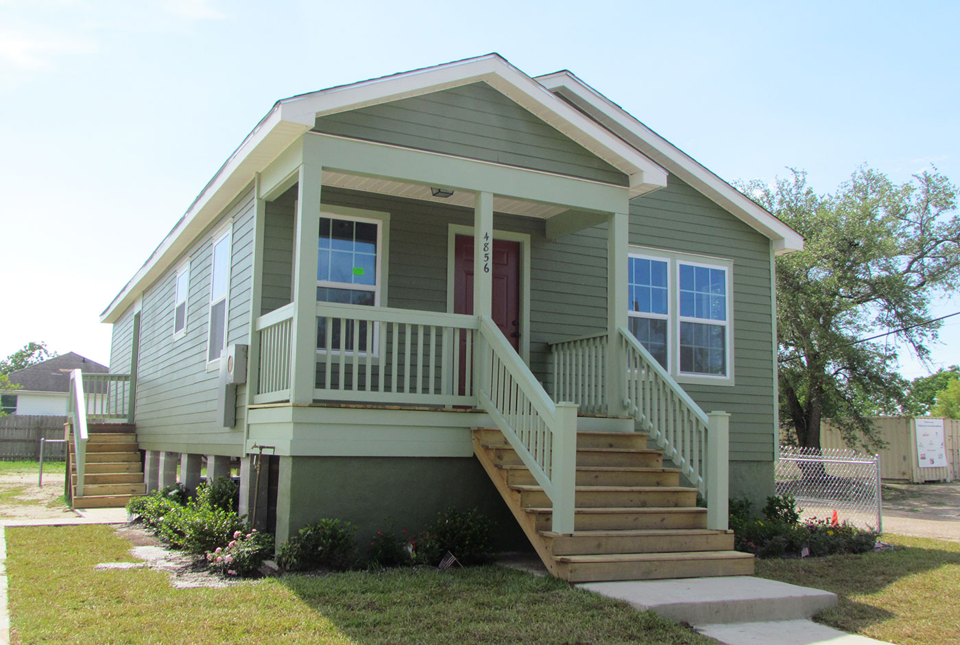 Home features new orleans area habitat for humanity for 4 bed new build house