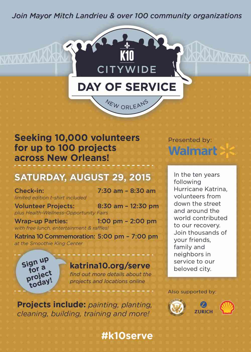 K10 Day of Service Flyer
