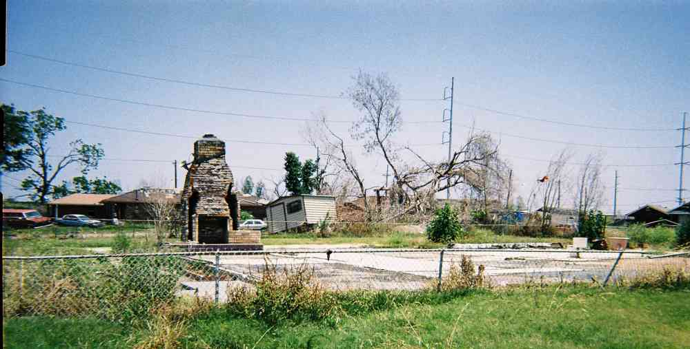 Aftermath of Hurricane Katrina 2006