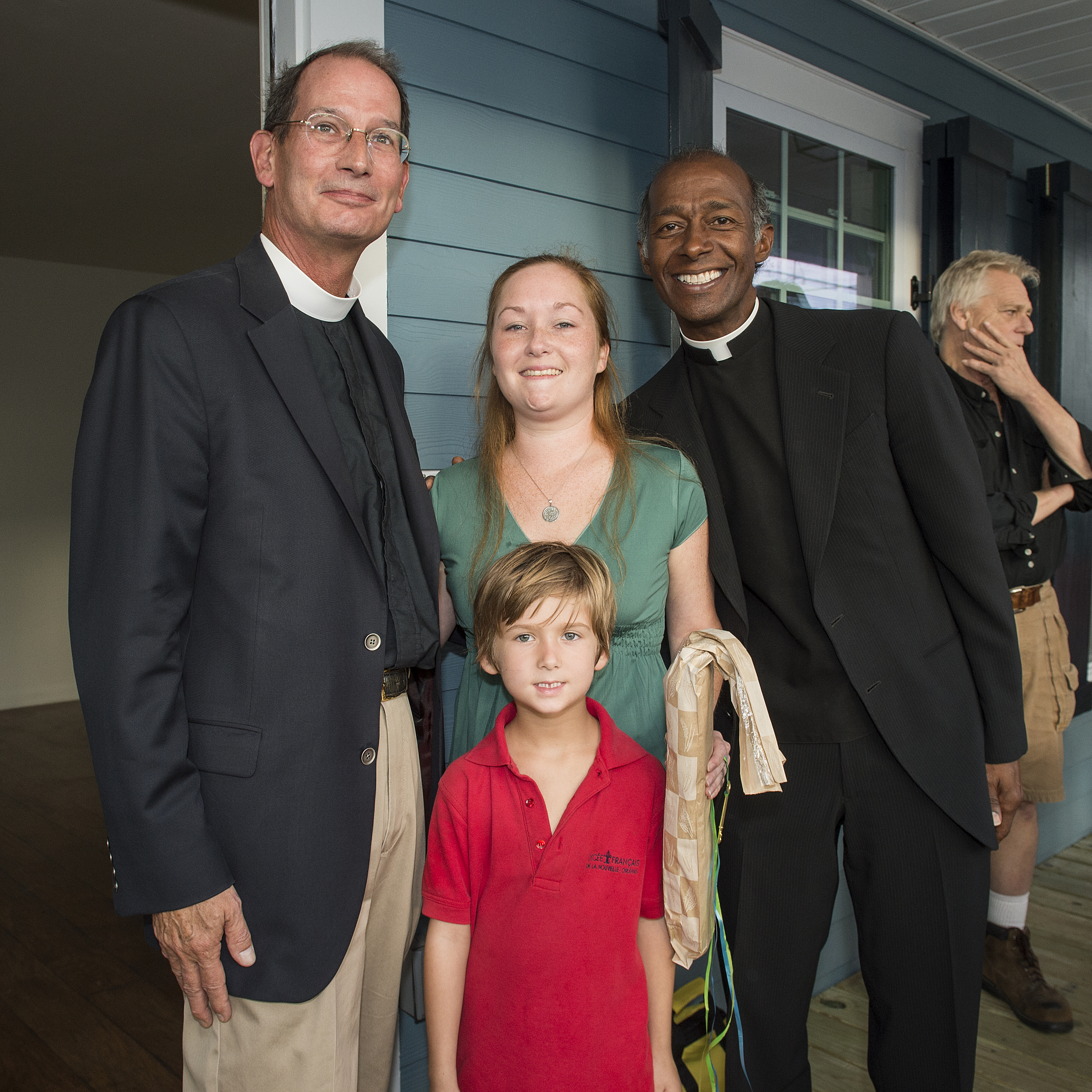 Ashley Kotteman Home Dedication Ceremony on October 21, 2015, at 8501 Oleander Street in New Orleans, LA. (Erika Goldring Photo)